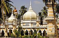 Malaysia, Kuala Lumpur.  Jaime Mosque in the city centre/center