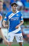 St Johnstone FC&hellip; Season 2016-17<br />George Hunter<br />Picture by Graeme Hart.<br />Copyright Perthshire Picture Agency<br />Tel: 01738 623350  Mobile: 07990 594431