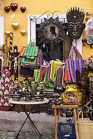 Mexican handicrafts store in San Miguel de Allende, Mexico