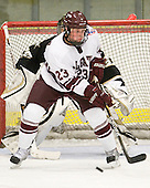 Chris Wagner (Colgate - 23) - The host Colgate University Raiders defeated the Army Black Knights 3-1 in the first Cape Cod Classic on Saturday, October 9, 2010, at the Hyannis Youth and Community Center in Hyannis, MA.
