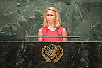 Liechtenstein<br /> H.E. Ms. Aurelia Frick<br /> Minister for Foreign Affairs<br /> <br /> <br /> General Assembly Seventy-first session 20th plenary meeting<br /> <br /> General Debate