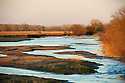 North America, United States, Nebraska, Wood River, Big Bend Region, Platte River.
