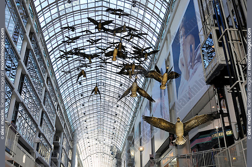 Canada Goose kids outlet store - Toronto Eaton Centre Shopping Mall | Fashion, Commercial, Fine Art ...