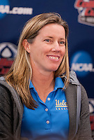 Amanda Cromwell. UCLA advanced on penalty kicks after defeating Virginia, 1-1, in regulation time at the NCAA Women's College Cup semifinals at WakeMed Soccer Park in Cary, NC.
