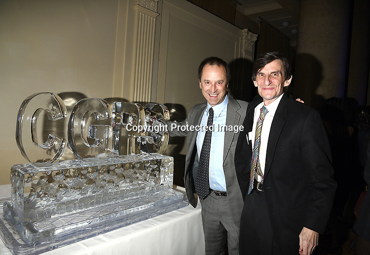 Michael Barasch and Bob Judson attend the Columbia Grammar & Prep School 2017 Benefit on March 8, 2017 at Cipriani Wall Street in New York, New York.