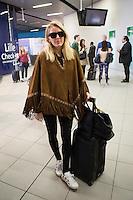 Ellie Goulding arriving in Brussels to attend  the Rock Werchter Festival  - EXCLU - Belgium