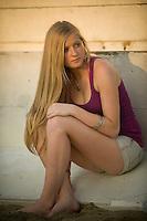Miss Alexx Hall as photographed at Asbury Park Beach, NJ.