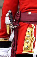 Guardsman at Buckingam Palace, London, United Kingdom.
