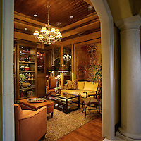 The Lobby waiting area has a comfortable living room feel