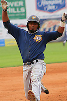 2014 May 14 Burlington Bees (Angels) @ Clinton LumberKings (Mariners)