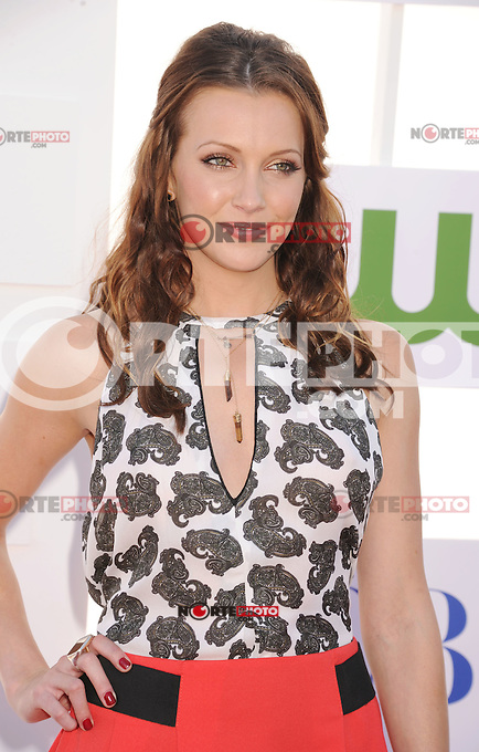 BEVERLY HILLS, CA - JULY 29: Katie Cassidy arrives at the CBS, Showtime and The CW 2012 TCA summer tour party at 9900 Wilshire Blvd on July 29, 2012 in Beverly Hills, California. /NortePhoto.com<br />