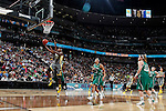 03 APR 2012:  Destiny Williams (10) of Baylor University lays up a shot against the University of Notre Dame during the Division I Women's Basketball Championship held at the Pepsi Center in Denver, CO.  Jamie Schwaberow/NCAA Photos