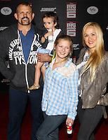 HOLLYWOOD, LOS ANGELES, CA, USA - NOVEMBER 04: Chuck Liddell, Heidi Northcott arrive at the Los Angeles Premiere Of Disney's 'Big Hero 6' held at the El Capitan Theatre on November 4, 2014 in Hollywood, Los Angeles, California, United States. (Photo by Celebrity Monitor)