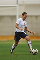 Stephanie Cox at the 2010 Algarve Cup in Portugal.