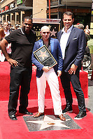Pitbull, Tony Robbins, Luther Campbell<br /> at the Pitbull Star on the Hollywood Walk of Fame Ceremony, Hollywood, CA 07-15-16<br /> David Edwards/DailyCeleb.com 818-249-4998
