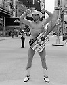The Naked Cowboy, Times Square, NYC