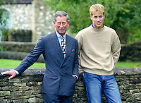 PRINCE WILLIAM ATTENDS A PHOTOCALL AT HIGHGROVE TO ANNOUNCE PLANS FOR THE FIRST PART OF HIS GAP YEAR..PICTURE: UK PRESS