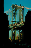 Manhattan Bridge, Connecting Manhattan and Brooklyn, New York City, New York