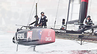 PORTUGAL, Cascais. 6th August 2011. America's Cup World Series. Day 1. EMIRATES TEAM NEW ZEALAND.