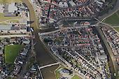 Luchtfotografie - Franeker - Stationsbrug-Oosterpoortsbrug