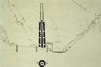 Menar e Jam draw from the Italian architect Andrea Bruno in mission for UNESCO in the 60'.