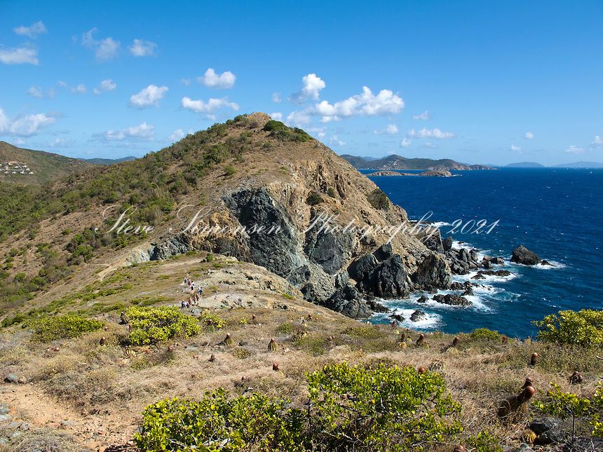 Ram Head looking east.St. John.U.S. Virgin Islands