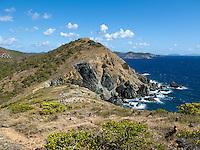 Ram Head looking east.St. John.U.S. Virgin Islands