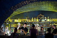 The Barber Shop speakeasy bar in Rome, Italy