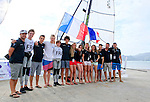 French Sailing Team, Day4, 2015 Youth Sailing World Championships,<br /> Langkawi, Malaysia