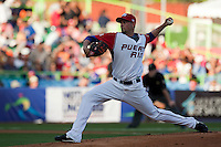 11 March 2009: #53 Jonathan Sanchez of Puerto Rico pitches against the Netherlands during the 2009 World Baseball Classic Pool D game 6 at Hiram Bithorn Stadium in San Juan, Puerto Rico. Puerto Rico wins 5-0 over the Netherlands