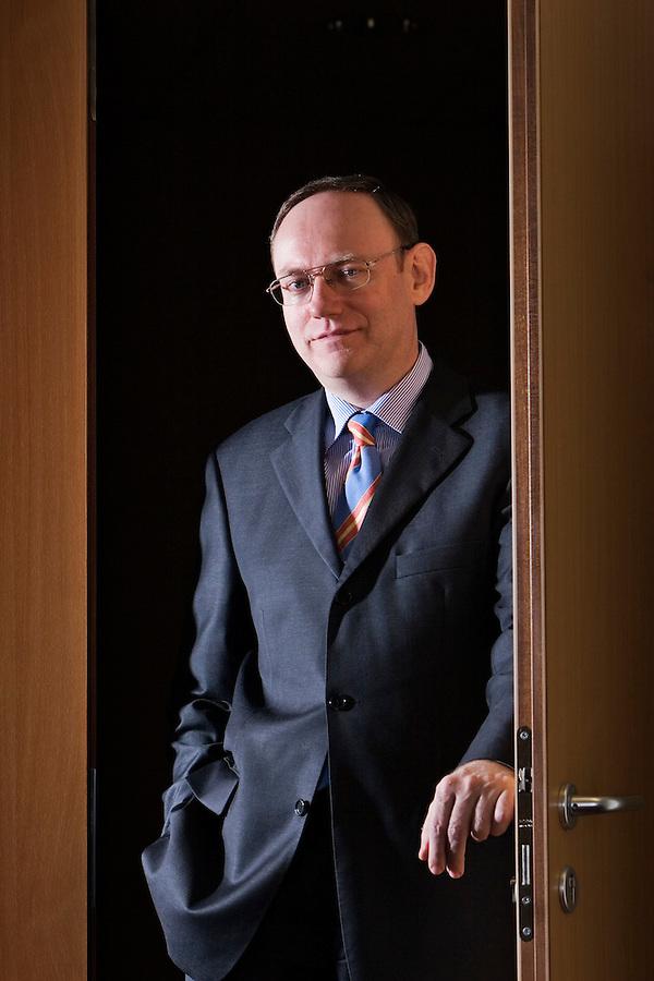 Moscow, Russia, 12/12/2006.&amp;#xA;Johann Jonach, Chairman of the Board at Raiffeisen Bank.<br />