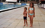 At the swimming pool in Skopje