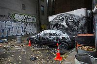 Banksy's 31 days in New York