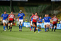 Takashi Kikutani (JPN), AUGUST 13, 2011, Rugby : International test match between Italy 31-24 Japan at Dino Manuzzi Stadium, Cesena, Italy, (Photo by Enrico Calderoni/AFLO SPORT) [0391]