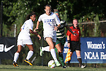 31 August 2014: Duke's Rebecca Quinn (CAN). The Duke University Blue Devils hosted the University of Alabama Birmingham Blazers at Koskinen Stadium in Durham, North Carolina in a 2014 NCAA Division I Women's Soccer match. Duke won the game 3-1.
