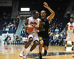 Ole Miss' Nick Williams (20) vs. Coastal Carolina's Warren Gillis (0) at the C.M. &quot;Tad&quot; Smith Coliseum in Oxford, Miss. on Tuesday, November 13, 2012.