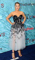 """NEW YORK, NY - June 21: Blake Lively attends the NEw York premiere for """"The Shallow"""" at the Loews AMC on June 21, 2016   in New York City .  Photo Credit: John Palmer/ MediaPunch"""