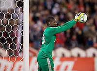 Bill Hamid.  D.C. United defeated Real Salt Lake, 1-0, at RFK Stadium.