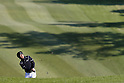 Keiichiro Fukabori, MAY 12, 2012 - Golf : Keiichiro Fukabori watches his approach shot to the 14th hole during the PGA Championship Nissin Cupnoodles Cup 2012 3rd round at Karasuyamajo Country Club, Tochigi, Japan. (Photo by Yusuke Nakanishi/AFLO SPORT) [1090]