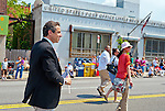 MAY 30, 2011 - Little Neck, New York, U.S. - New York Governor ANDREW CUOMO (Democrat) marches in Little Neck-Douglaston Memorial Day Parade, which honors America's veterans, on Northern Boulevard.