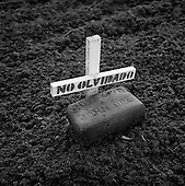 Hotville, California<br /> USA<br /> August 21, 2007<br /> <br /> The unnamed grave of men and women - Mexicans and others foreign nationals  - who died attempting to cross into the US from Mexico near Mexicali and Calexico.