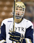 Shayne Taker (Notre Dame - 3) - The University of Notre Dame Fighting Irish defeated the University of New Hampshire Wildcats 2-1 in the NCAA Northeast Regional Final on Sunday, March 27, 2011, at Verizon Wireless Arena in Manchester, New Hampshire.