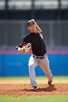 Miami Marlins pitcher Braxton Garrett (22) during an Instructional League game against the New York Mets on September 29, 2016 at Port St. Lucie Training Complex in Port St. Lucie, Florida.  (Mike Janes/Four Seam Images)