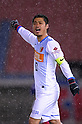 Mitsuo Ogasawara (Antlers), MARCH 31, 2012 - Football / Soccer : 2012 J.LEAGUE Division 1 between Yokohama F Marinos 0-0 Kashima Antlers at NISSAN Stadium, Kanagawa, Japan. This game was celebrated as a 20th Anniversary Match involving two of the original teams that featured when the J.League launched. Traditionally one of the favourites, Kashima have not scored yet in their first 4 games of the season. (Photo by Atsushi Tomura /AFLO SPORT) [1035]