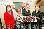 Food Fair: Tasting the food in the Taste The World Food Trail in Listowell on Saturday last were Patricia O'Herlihy, Sid Sheeha, Ruth O'Quigley, Kevin Barry  & Amy Thornton & Laura Jane Knight from Eabha Joan's Restaurant.