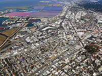 aerial photograph Redwood City, San Mateo county, California