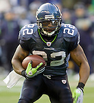 Seattle Seahawks running back Julius Jones at QWEST Field in Seattle.  Jim Bryant Photo. ©2010. All Rights Reserved