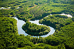 Peace Athabasca delta.Boreal forest and wetlands.The world's largest freshwater delta and critical habitat for many species. It lies directly downstream from the Alberta Tar Sands or Oil Sands.