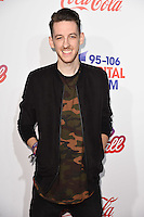 LONDON, UK. December 3, 2016: Sigala at the Jingle Bell Ball 2016 at the O2 Arena, Greenwich, London.<br /> Picture: Steve Vas/Featureflash/SilverHub 0208 004 5359/ 07711 972644 Editors@silverhubmedia.com
