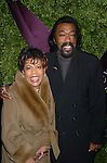 Valerie Simpson and Nick Ashford..at the opening of Asprey in New York city on December 8, 2003. Photo by Robin Platzer, Twin Images